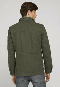 TOM TAILOR - Light jacket - olive night green - 2