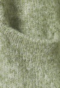 Kaffe Curve - ALICIA CARDIGAN - Cardigan - hedge green melange - 2