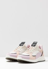 ECCO - ECCO ST.1 W - Trainers - blossom rose/black/white/rose dust - 7