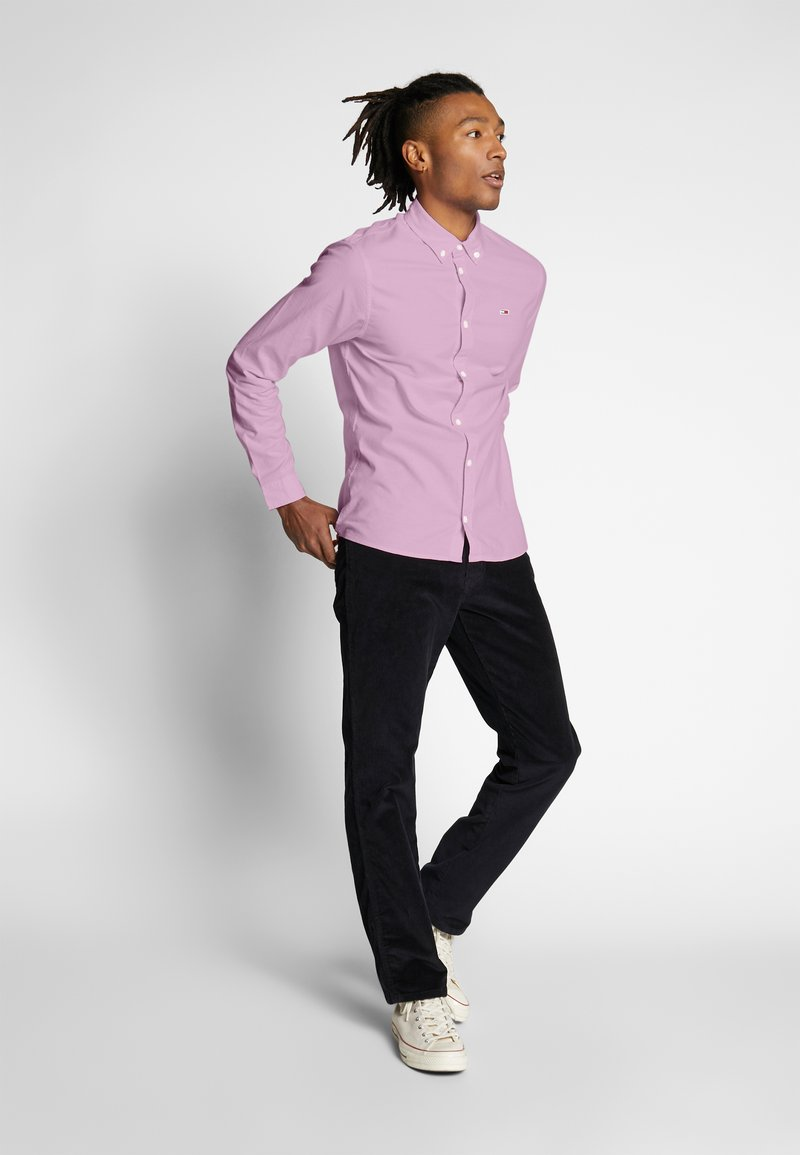 Tommy Jeans - OXFORD SHIRT - Koszula - pearly pink