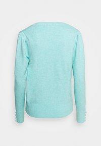 Marks & Spencer London - VEE JUMPER - Strikkegenser - turquoise - 1
