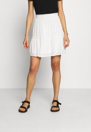 VIDEBBIE FESTIVAL SKIRT - A-line skirt - snow white