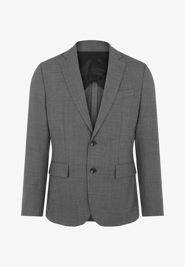 HOPPER NATTE STRETCH - Blazer - granite