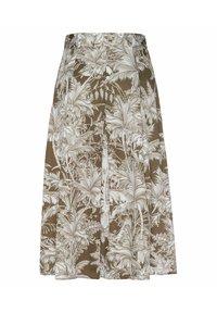 RIANI - A-line skirt - khaki (44) - 2