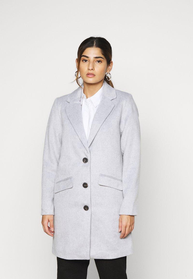 VILA PETITE - VILEOVITA COAT - Classic coat - light grey melange