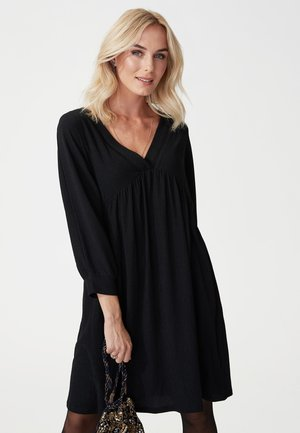 NIXIE - Day dress - black