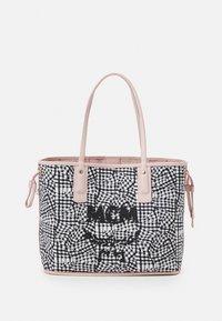 MCM - SHOPPER PROJECT VISETOS MEDIUM SET - Tote bag - powder pink - 4