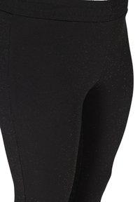Zizzi - SPARKLY  - Leggings - Trousers - black - 4