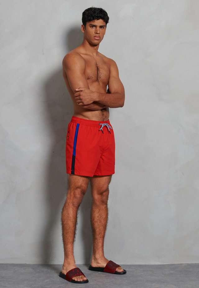 Zwemshorts - flag red