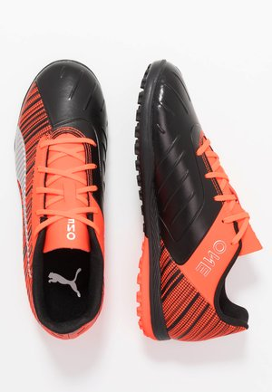 ONE 5.4 TT - Astro turf trainers - black/nrgy red/aged silver