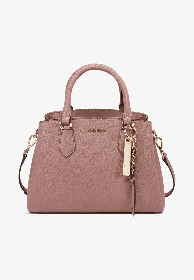ROSE SMALL JET SET - Handbag - mauve