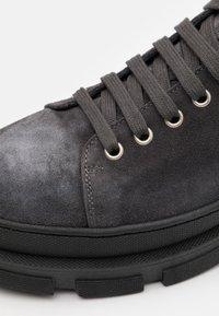 Copenhagen - Lace-up ankle boots - graphit - 5