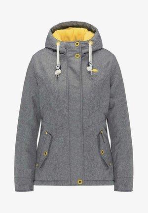 Winter coat - grey melange