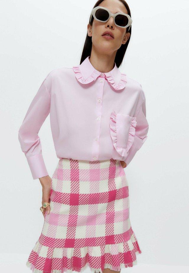 MIT BUBIKRAGEN  - Camicia - pink