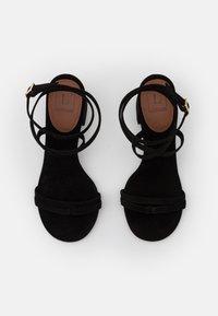 L'Autre Chose - HEEL - Sandals - black - 4