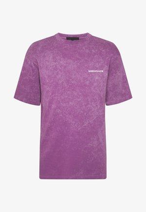ACID WASH BACK  - T-shirts print - purple