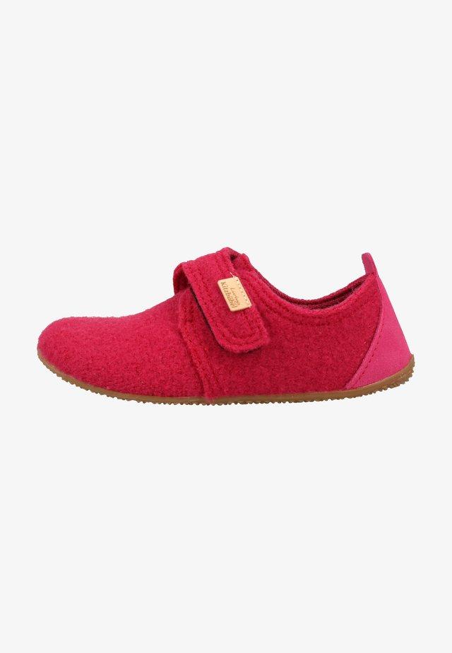 Chaussures à scratch - magenta