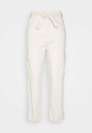 GODIVA - Trousers - naturel white wash