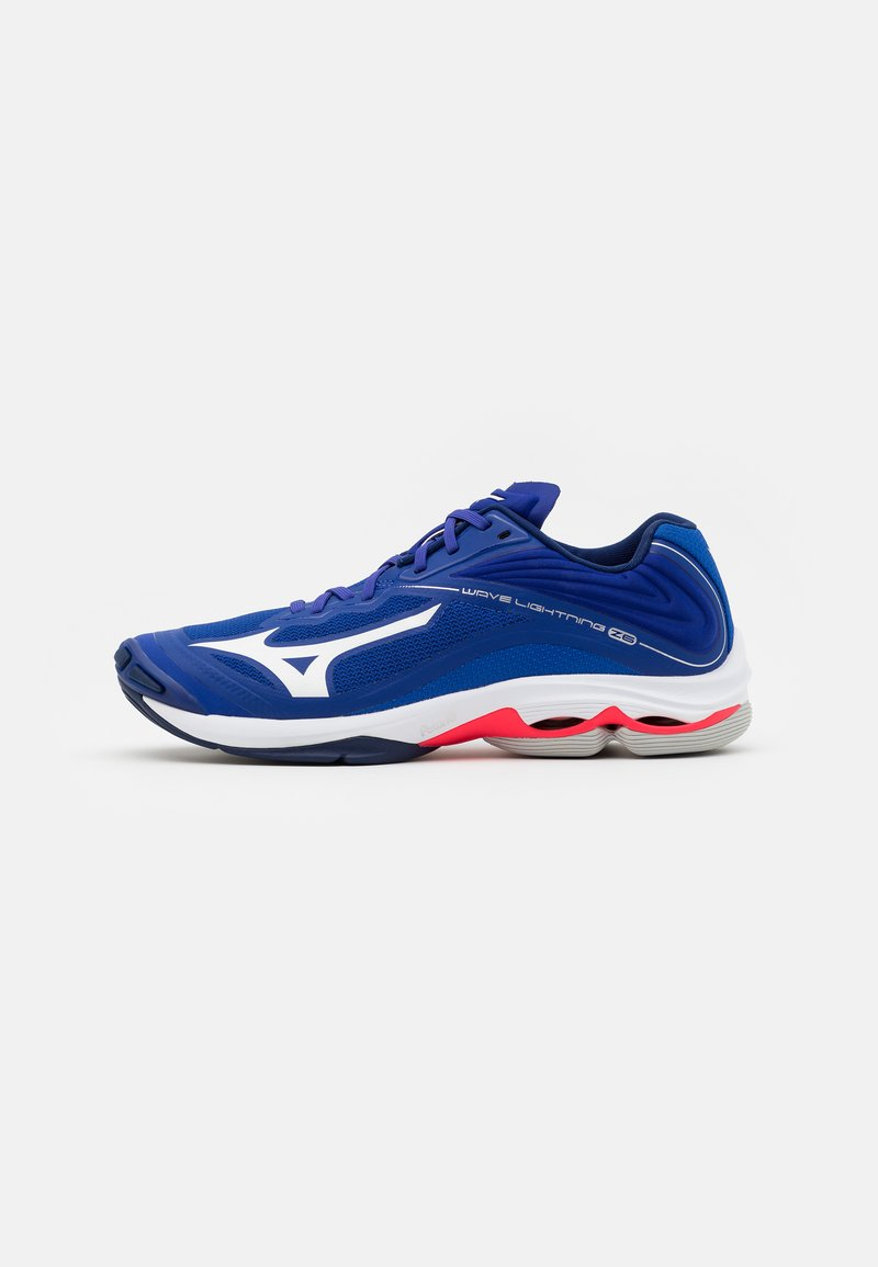 Mizuno - WAVE LIGHTNING Z6 - Volleyball shoes - reflex blue/white/diva pink