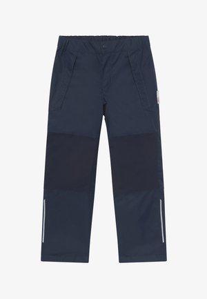 LENTO - Długie spodnie trekkingowe - navy