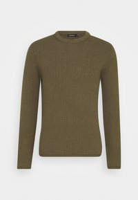 REMUS STRUCTURED  - Jumper - moss green