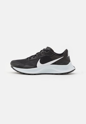 PEGASUS TRAIL 3 - Trail running shoes - black/pure platinum/dark smoke grey