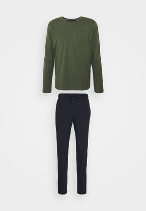 CREW NECK - Pyjamas - nachtblau