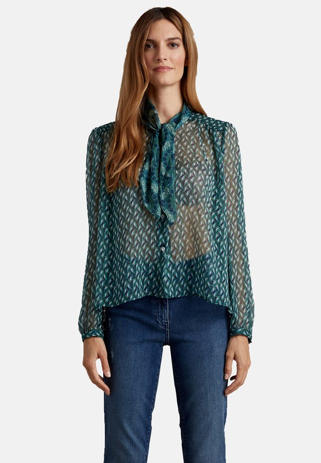 FANTASIA IN GEORGETTE - Camicia - verde