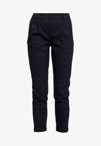 ONLY - ONLABBIE CHECK PANT - Trousers - night sky - 5