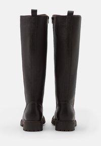 Anna Field - LEATHER - Boots - dark brown - 3