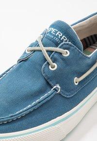 Sperry - BAHAMA KICK BACK - Boat shoes - slate blue - 5