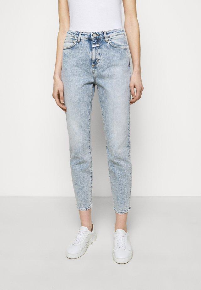 BAKER HIGH - Jeans Straight Leg - light blue