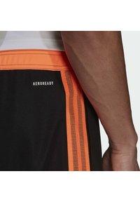adidas Performance - TIRO  - Træningsbukser - black/scrora - 3