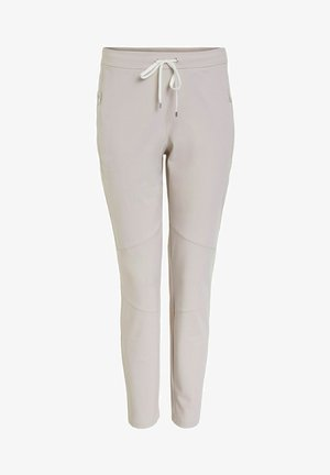 SLIM FIT - Tracksuit bottoms - silver lining