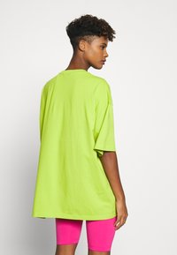 Monki - CISSI TEE  - T-shirts - lime green - 2