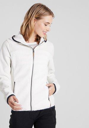 ALDORA - Fleece jacket - natural white
