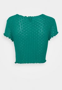 BDG Urban Outfitters - POINTELLE TEE - T-shirts med print - teal - 1