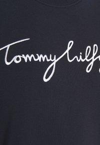 Tommy Hilfiger - REGULAR GRAPHIC - Sweatshirt - blue - 5