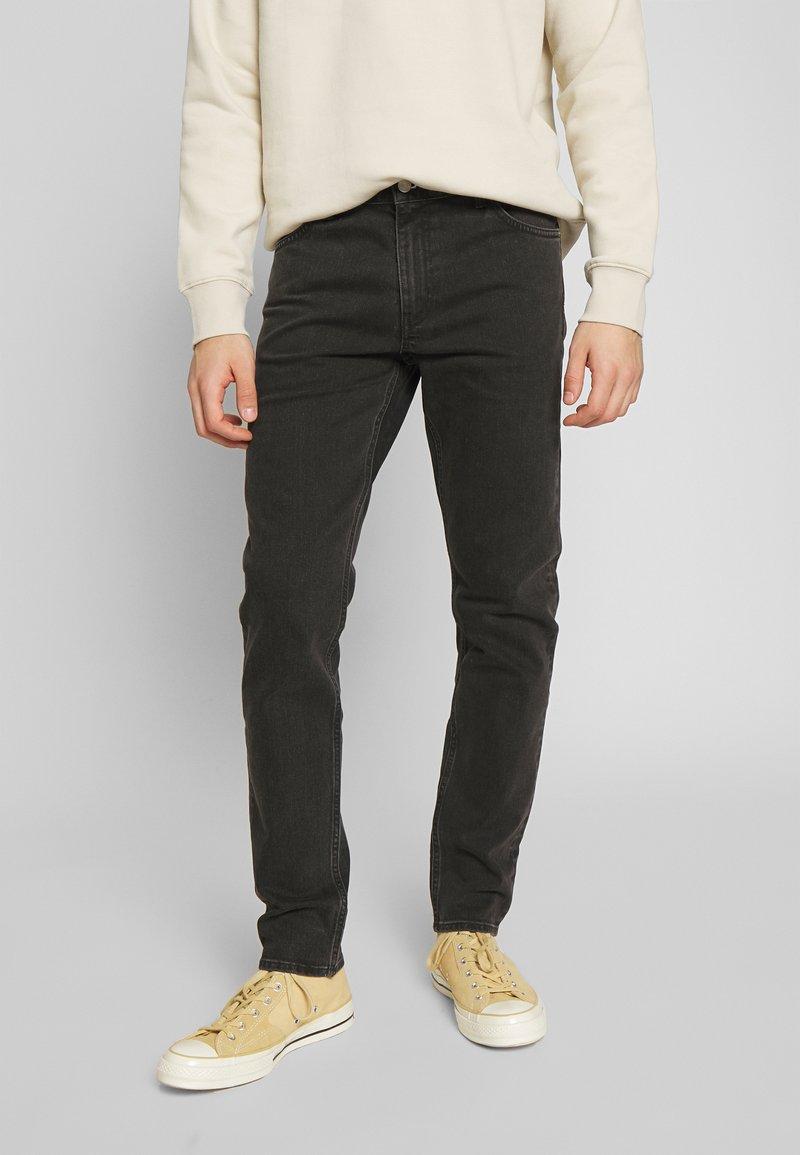 Weekday - SUNDAY - Straight leg jeans - tuned black