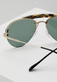 Prada - Sunglasses - medium havana/pale gold/light green - 4