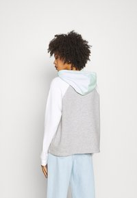 GAP - FRANCHISE LOGO  - Jersey con capucha - light heather grey - 2