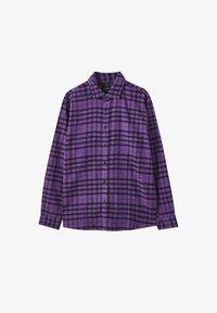 PULL&BEAR - Košile - purple - 4