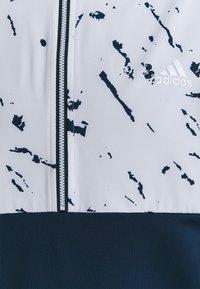 adidas Golf - PRIMEBLUE COLD.RDY 1/4 ZIP - Hoodie - crew navy/white - 2