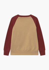Mainio - UNISEX - Sweatshirt - beige/fired brick - 1