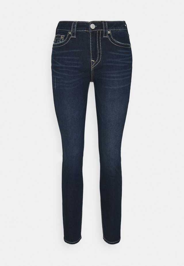 HALLE BIG - Skinny džíny - blue denim