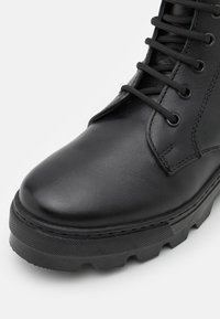 DECHASE - KEFF HIGH UNISEX - Lace-up ankle boots - black - 5