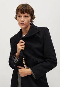 Mango - Classic coat - noir - 5