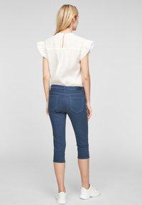 s.Oliver - Denim shorts - blue - 2