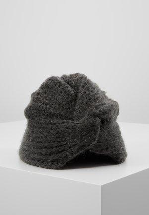 Klobouk - dark grey melange