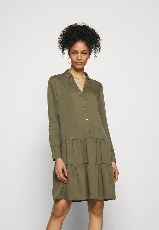 DRESS - Denní šaty - khaki green
